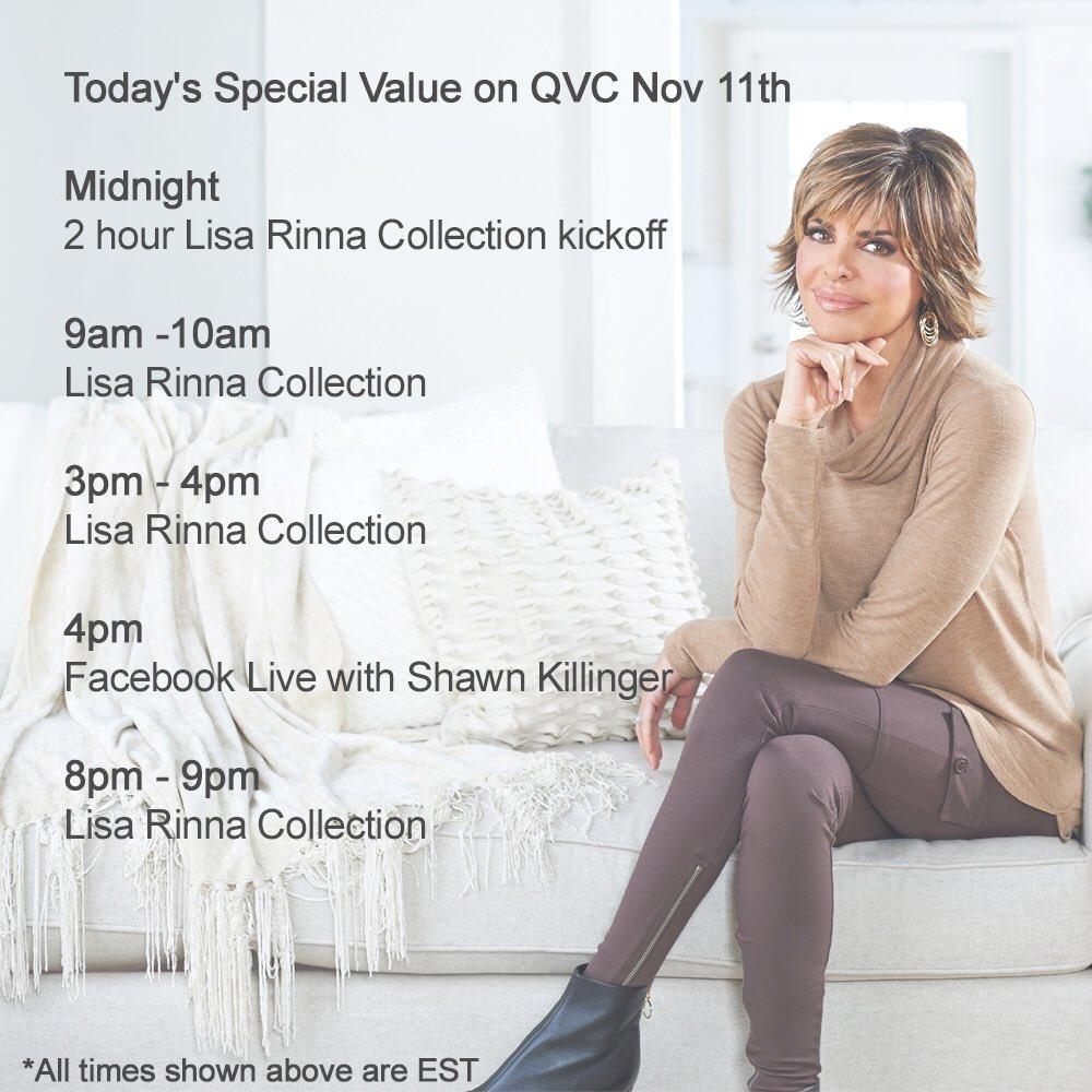 Tomorrow! Come spend the day with me and @QVC #TSV https://t.co/jZJIqN7Yih