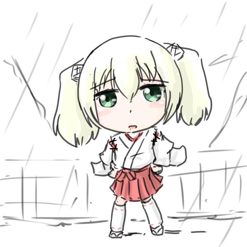 雨あのじゃぁ#ハコネちゃん
