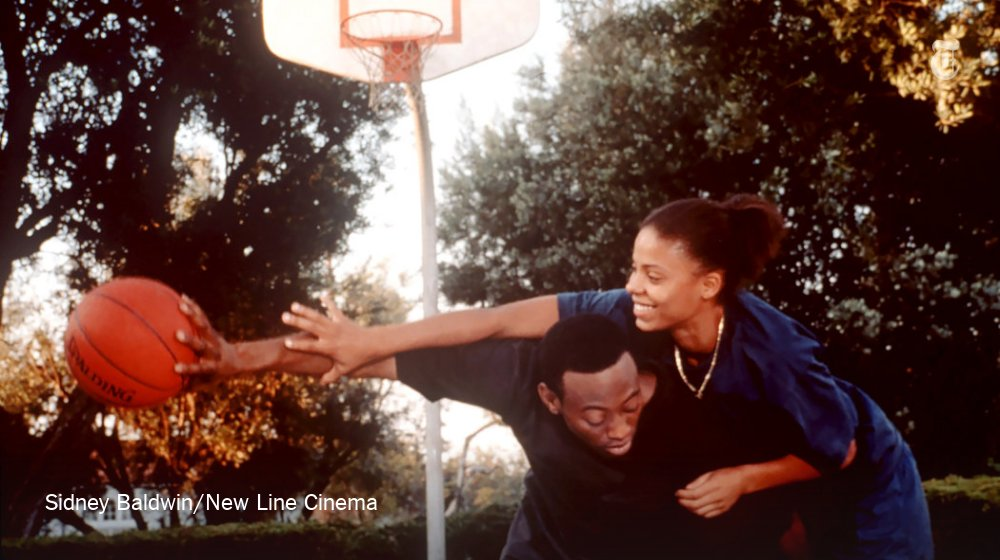 "Today's @Watching recommendation: the underrated romantic drama ""Love & Basketball"""
