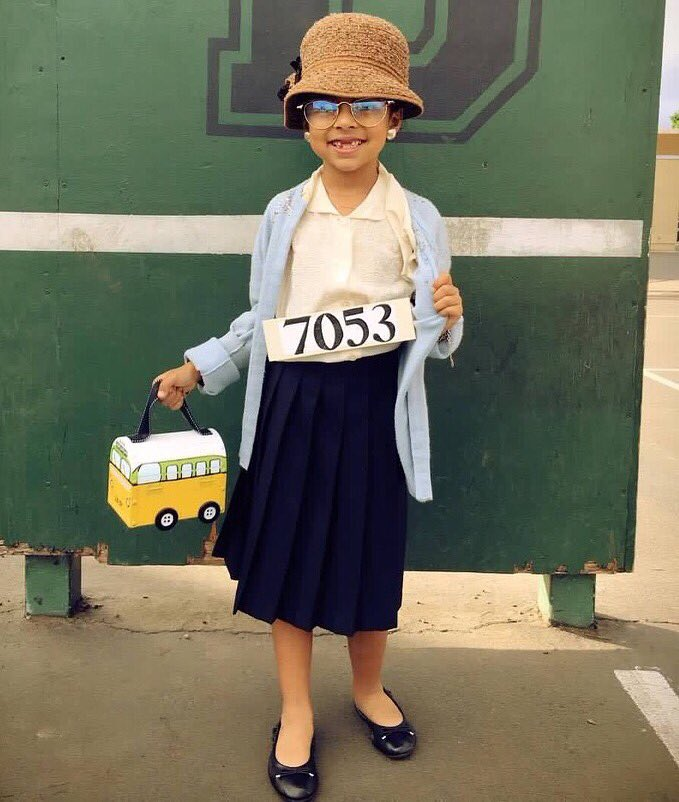 When Your 7 Year Old Wants To Be Rosa Parks For Love It
