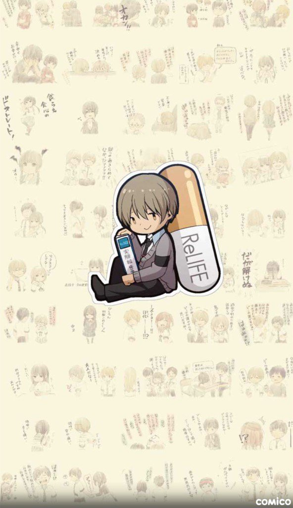 ReLIFE - report150. ゴールに向かって#comico #ReLIFEDreaming land! 🐾🐾