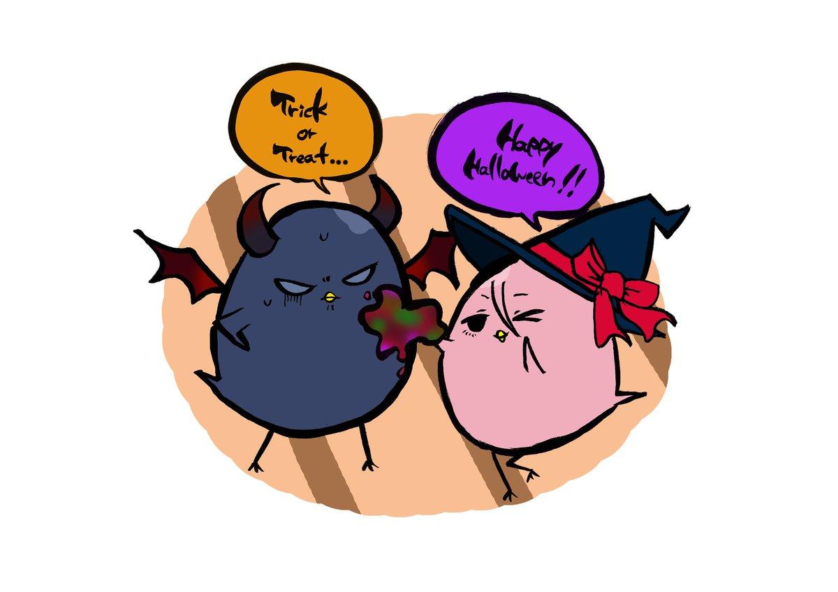 HAPPY HALLOWEEN!! 「お菓子の準備はばっちりだよ♪」 「げっ!お前それ、いたずらじゃ済まねえだろ…」 #kurobas