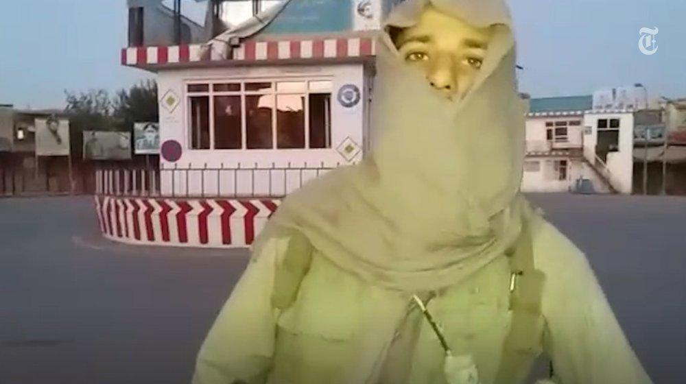 The Taliban's new way of war: Fire. Film. Tweet.