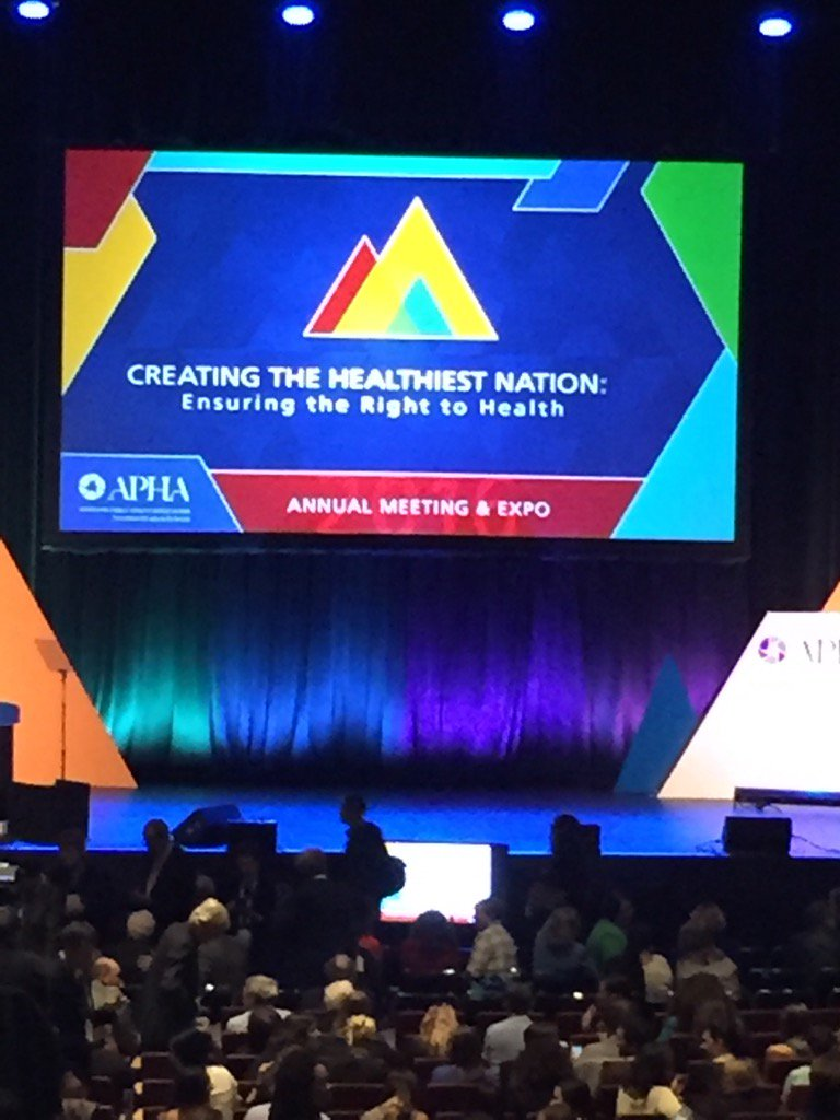 test Twitter Media - Excited for the start of #APHA2016 https://t.co/i0MLtgwvt1