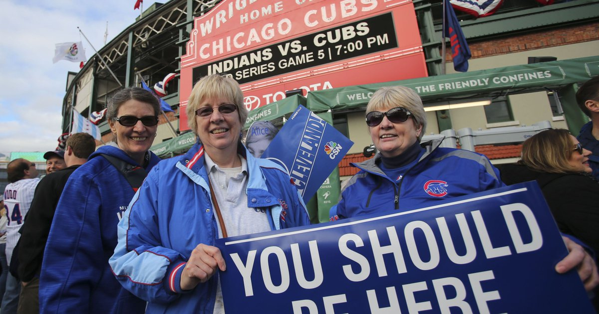 As World Series ticket prices drop, Indians fans hope to make dent in Wrigley crowd