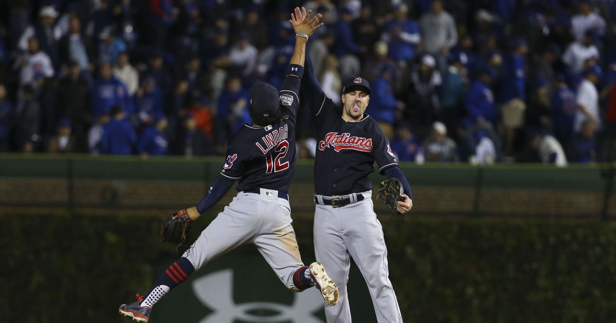 Indians no joke, on brink of World Series title