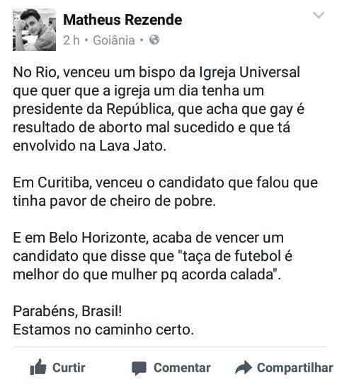 #Eleicoes2016: Eleicoes 2016