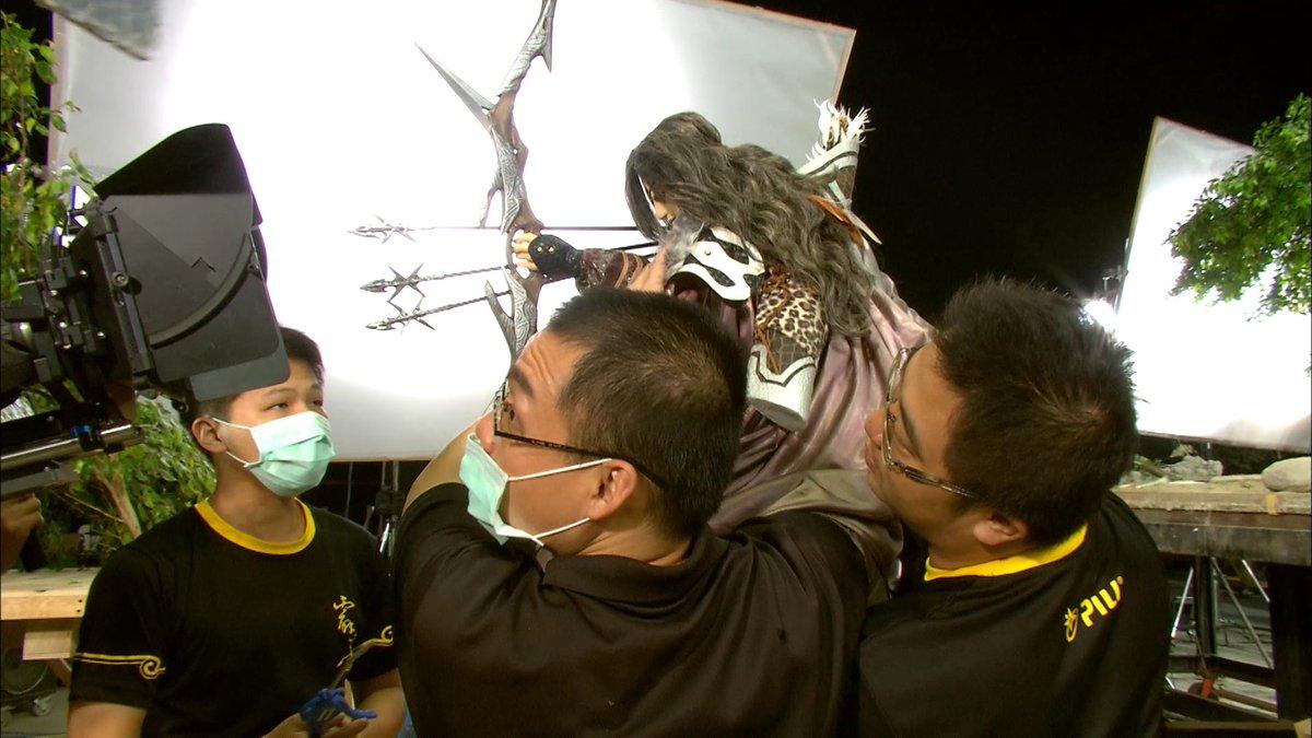 「Thunderbolt Fantasy 東離劍遊紀」第二話より。「人形劇でこんな動きが?武器まで?え、え、CGじゃない