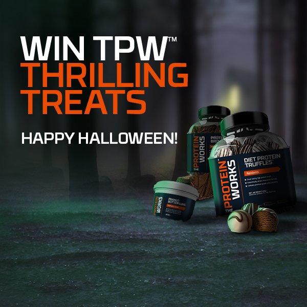 WIN TPW THRILLING TREATSRT this post to enter! HappyHalloween WIN