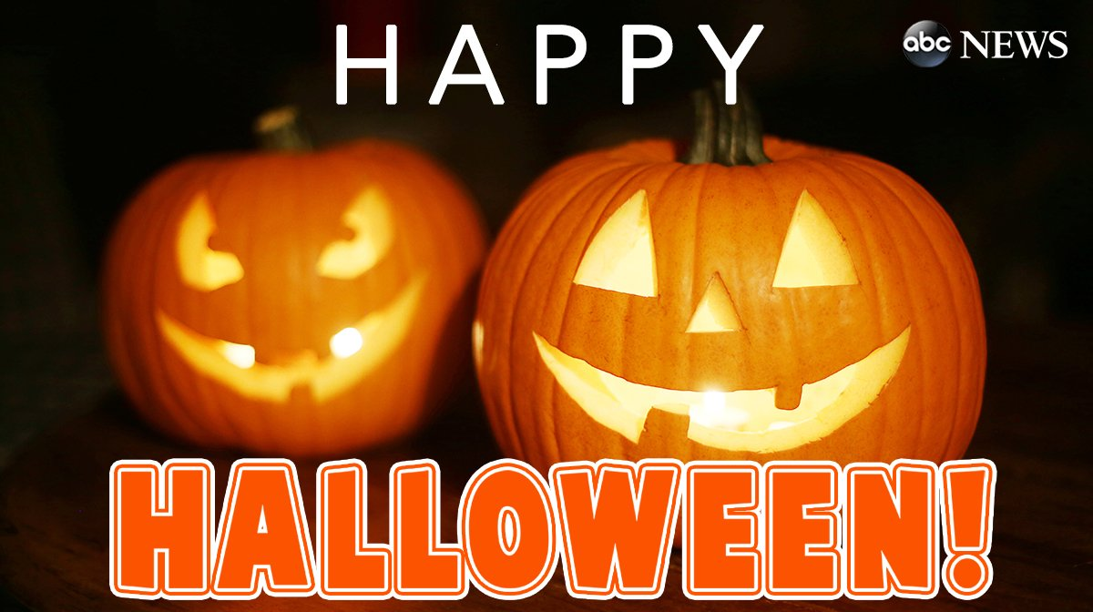 From all of us here at @ABC News, have a happy and safe Halloween!
