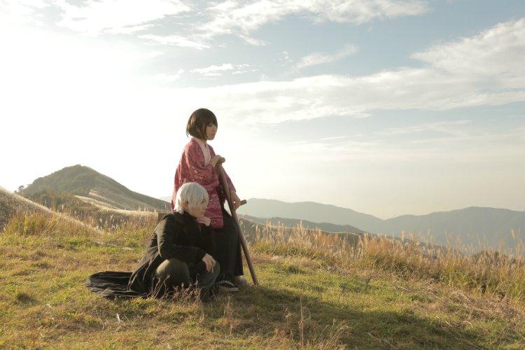 *蟲師*コス写真*「いつか歩けるようになったら…」ギンコ:ANNAさん 淡幽:ゆーた Photo:文香さん