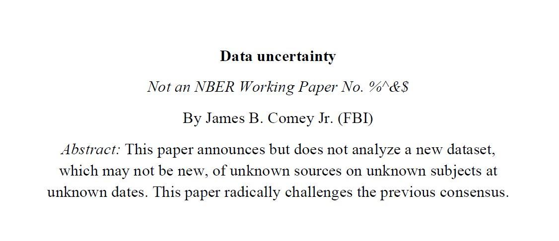 FBI Director James B. Comey -- the academic version https://t.co/3NpYeZYA1f