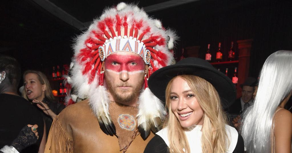 Hilary Duff apologizes for offensive couples Halloween costume