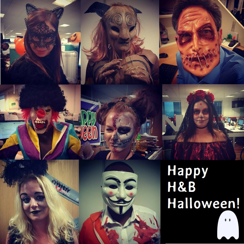 Happy Halloween from all of us here at H&B HQ! https://t.co/3C2mMOn2GB