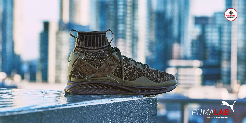 Puma Ignite Evoknit Burnt Olive
