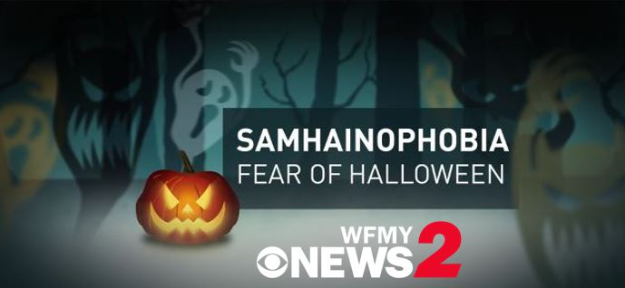 Spooky fact - the word samhainophobia means the fear of #halloween ...