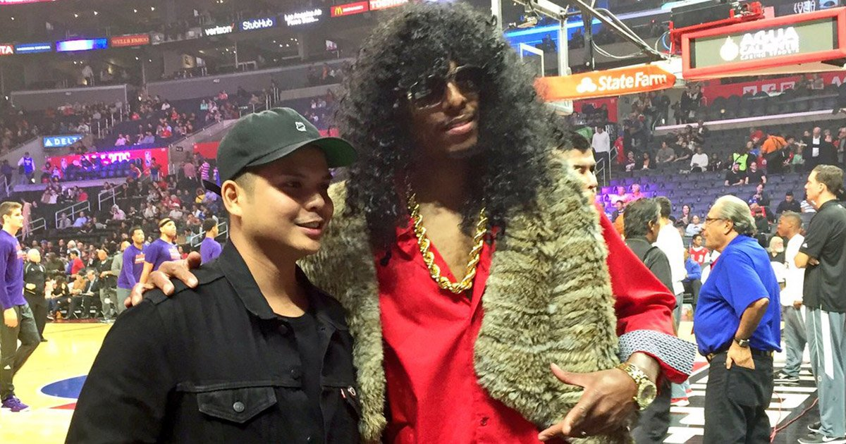 paul pierce channels rick james for halloween httpstco - Paul Pierce Halloween