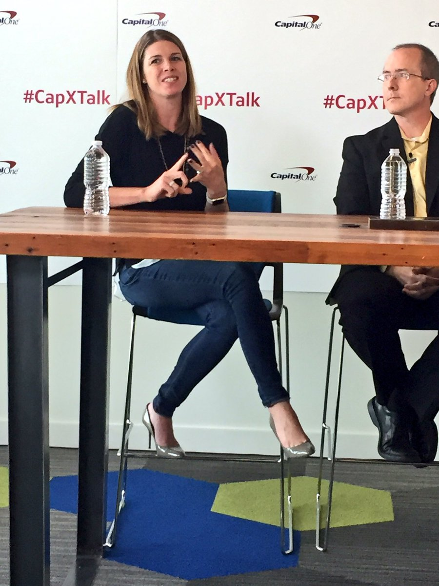 People are the best investment - Karen Beck Stroup SVP @CapitalOne #techweekdfw #capxtalk https://t.co/VKkoPxKjRY