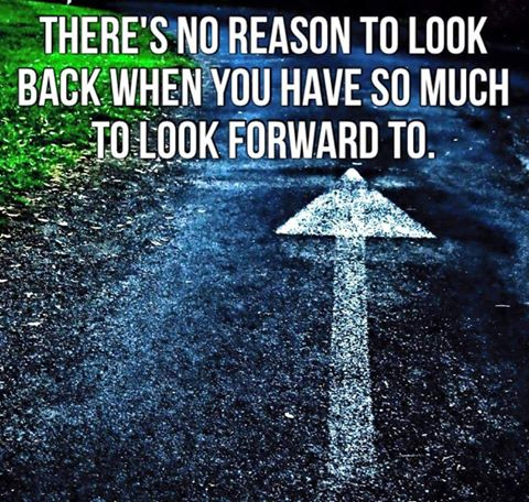 There's no reason to look back when you have so much to look forward to. #NeverGiveUp #PositiveThinking #BeStrong https://t.co/N7WaexWyyB
