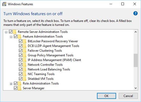 Download Version 1.2 of Remote Server Administration Tools (#RSAT) for #Windows10: https://t.co/1jPUBNpR8t https://t.co/tt0uYs8lKw