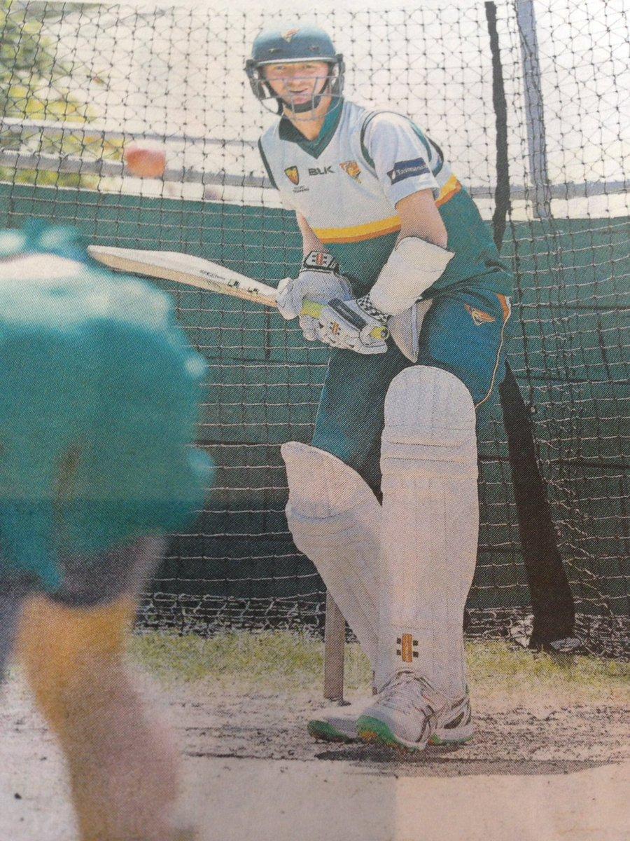 Great to see @jbird431 working hard on his batting... https://t.co/4NRdV8rsy7