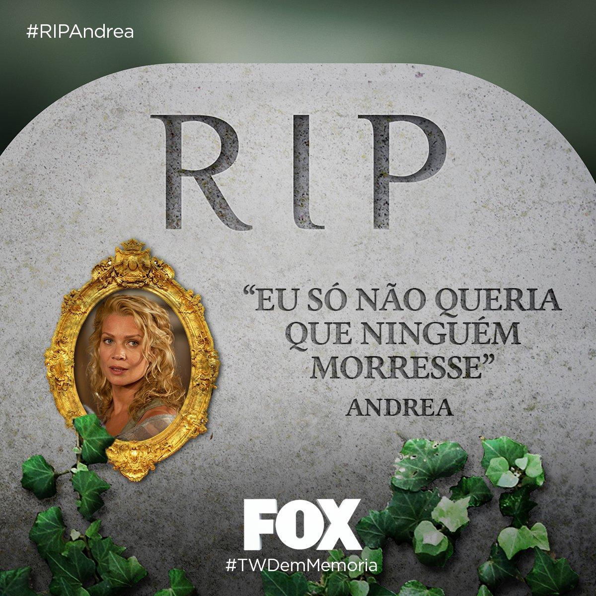 #RIPAndrea: RIP Andrea