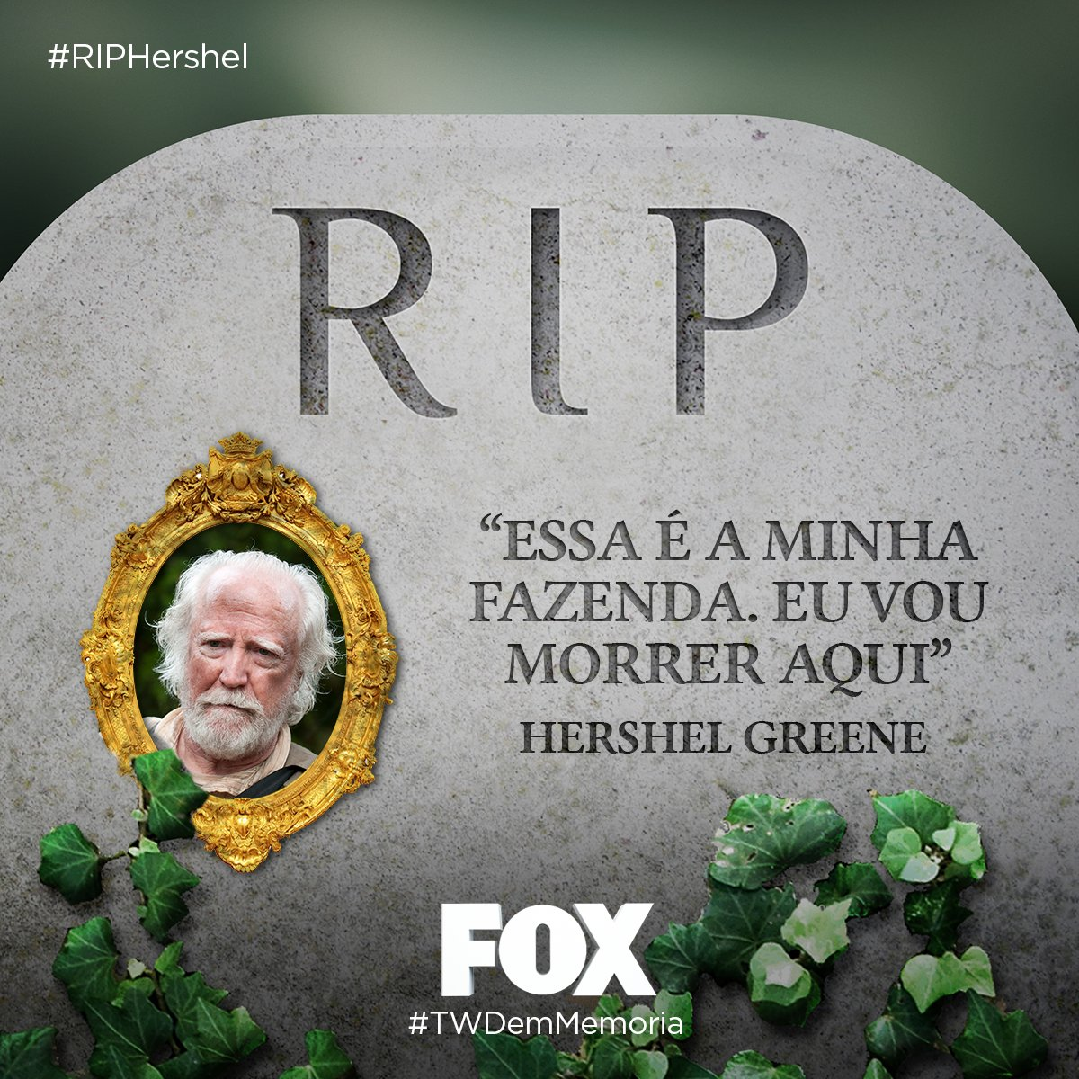 #RIPHershel: RIP Hershel