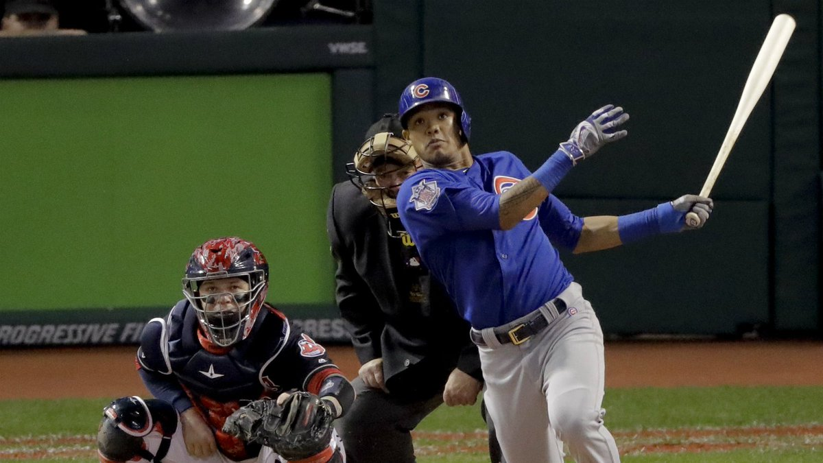 Chicago routs Cleveland 9-3, sending World Series to Game 7
