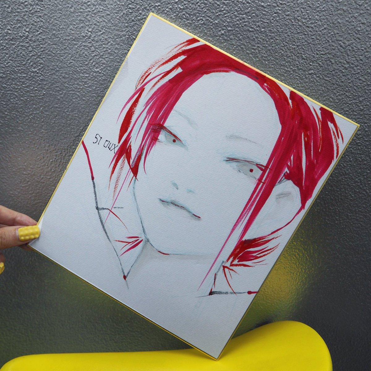 スイさんに無理言って描いてもらった!最高だ、最高です。 #石田スイ #tokyoghoul #東京喰種 https://t.co/CW6zCFnXxo