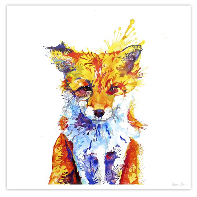 Win A Stunning Print Worth 45 With sarahtaylorart SMABLblog giveaway