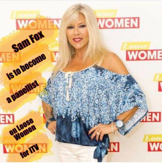 Watch me on Loose Women today at 12.30 on ITV.  Love Sam ❤️ https://t.co/PRsnEDwt2f