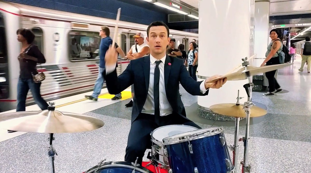 There was that time I played drums in a subway… https://t.co/0dsS0p6ERW Shot on the #LGV20 @LGUSAMobile https://t.co/m1OqqyTVJ9