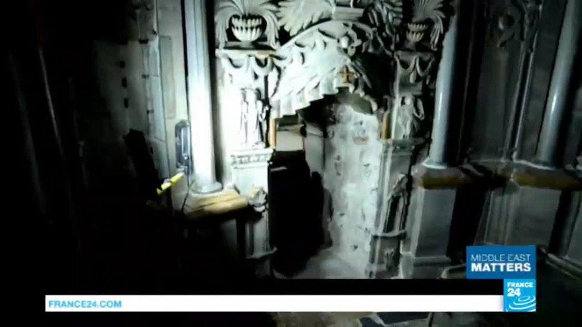 VIDEO -  Jerusalem: inside Christianity's holiest site, Jesus Christ's tomb