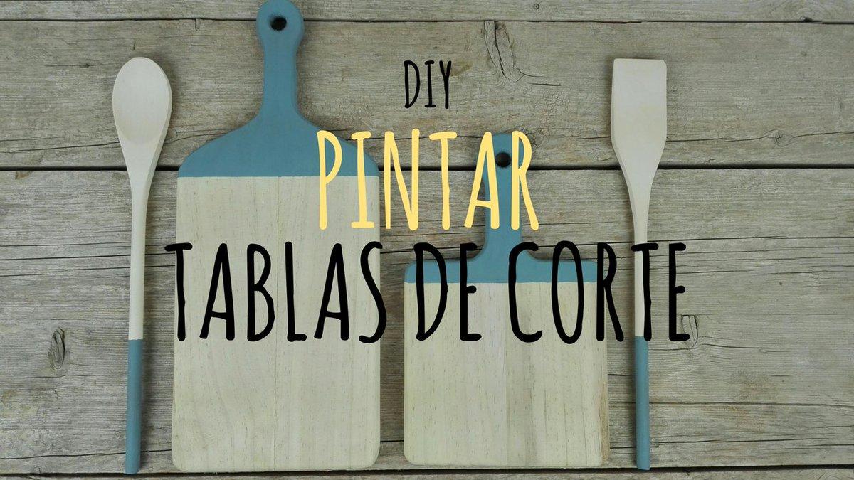 DIY | Pintar tablas de corte