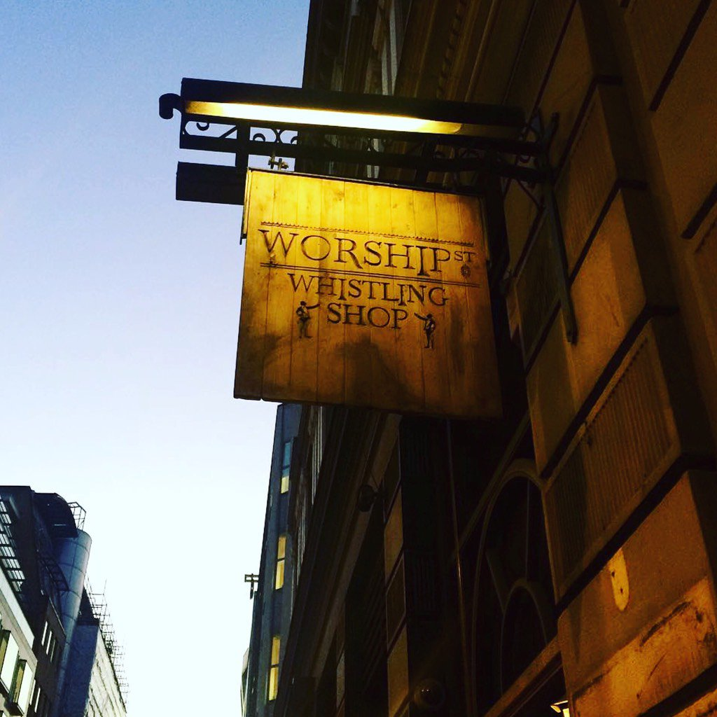 The not-quite-an-Old-Fashioned Inquisition, Worship Street Whistling Shop London's Best Old Fashioneds