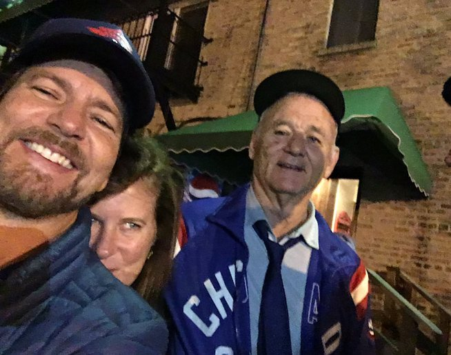 Eddie Vedder and Bill Murray Jammed Out at a World Series house party #WorldSeries https://t.co/GCsCtMgTym … https://t.co/fm3VeWaaUJ