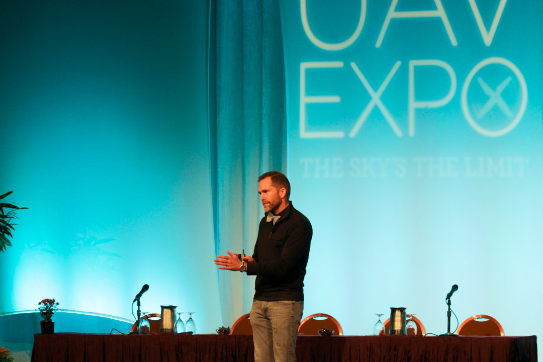 """""""Openness allows new products to be built."""" —@johnbrogers at #UAVExpo2016 https://t.co/UuK2tju7Ea"""