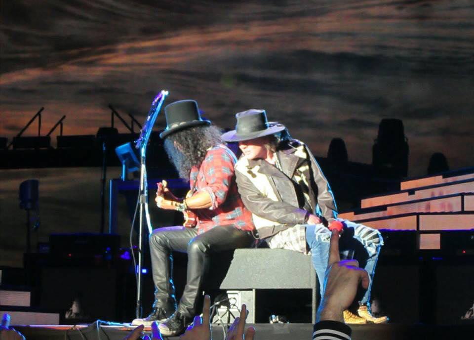 E essa foto do show de ontem em Rosario?!