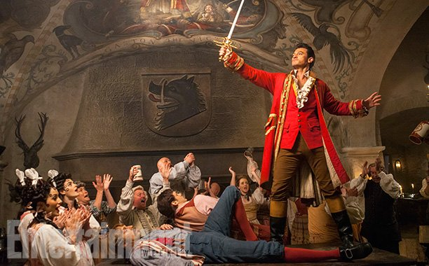Say hello to Gaston... not forgetting @joshgad as Le Fou #BeautyAndTheBeast https://t.co/G6hFsLAug3