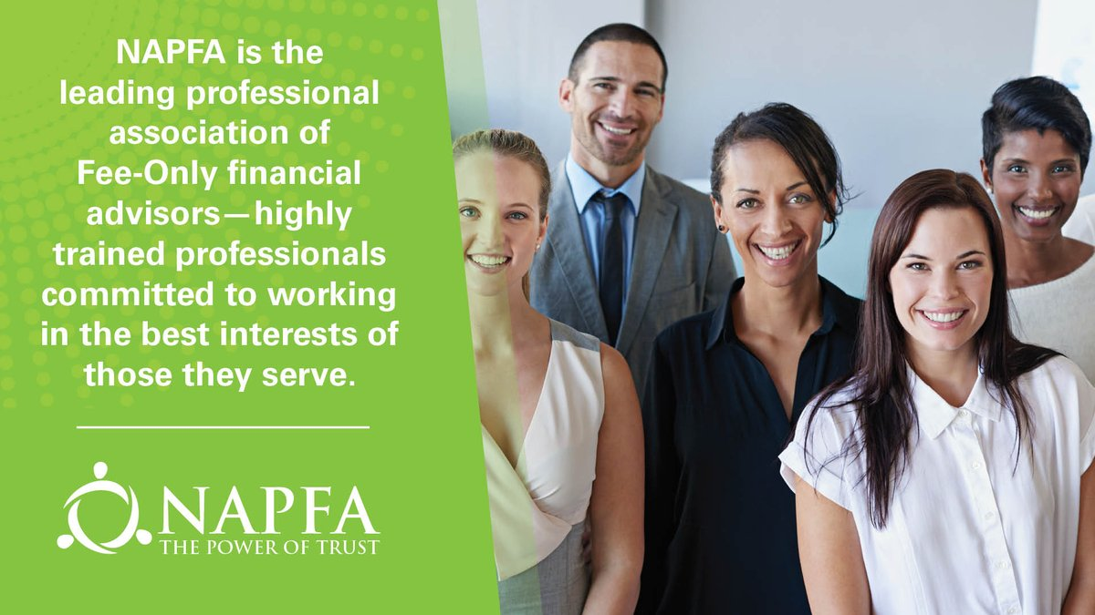 NAPFA's #FeeOnly advisors are committed to working in their clients' best interests. https://t.co/cQKFbQYl74