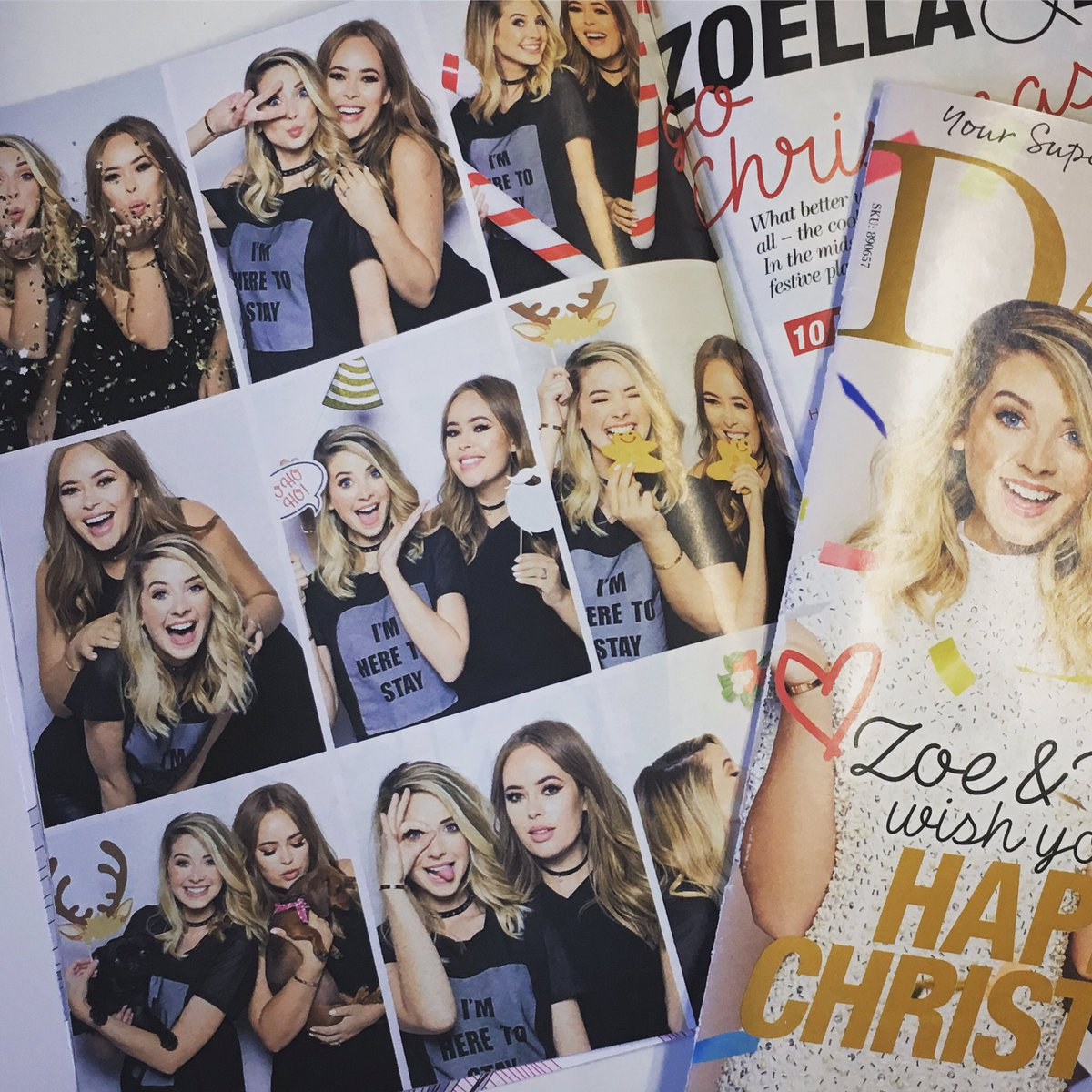 More pics from my shoot with @zoella & @TanyaBurr