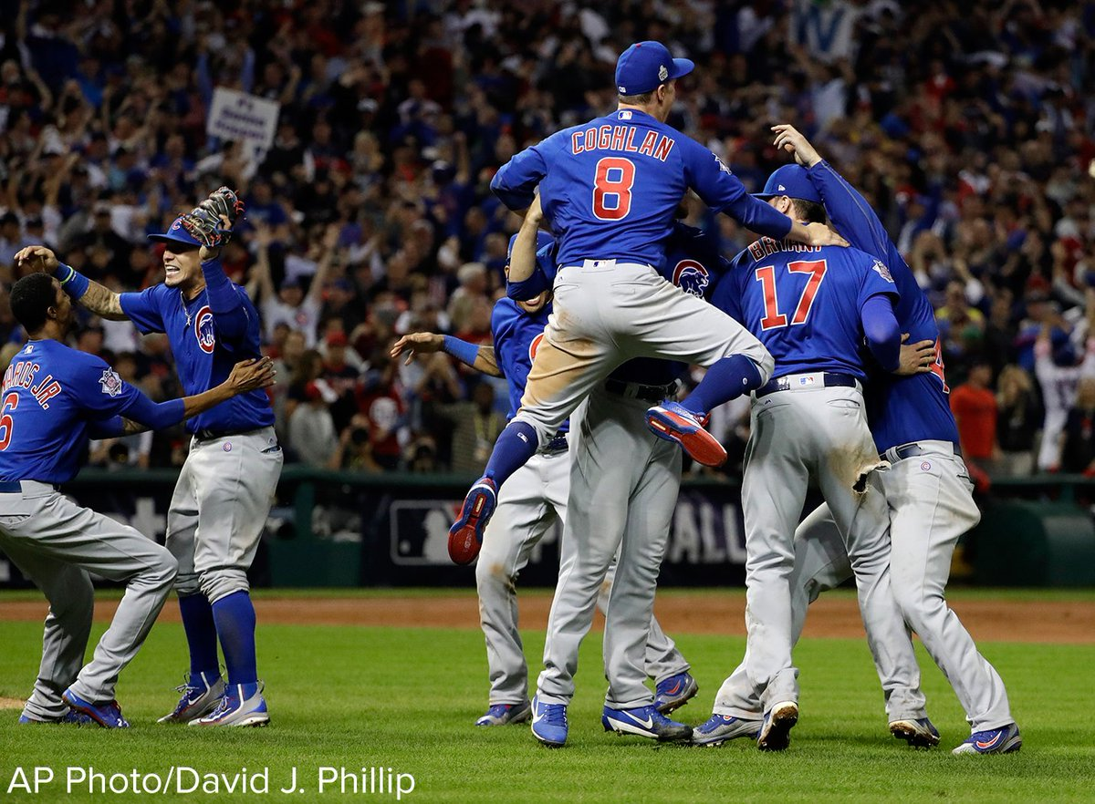 After 108 years, the Chicago Cubs are once again the world champions of baseball.