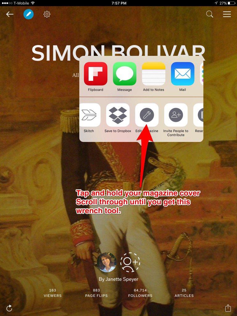 How to edit  a@Flipboard on a mobile device @j_allen (1 of 2 slides) #FlipboardChat https://t.co/YIVjFV6yNC