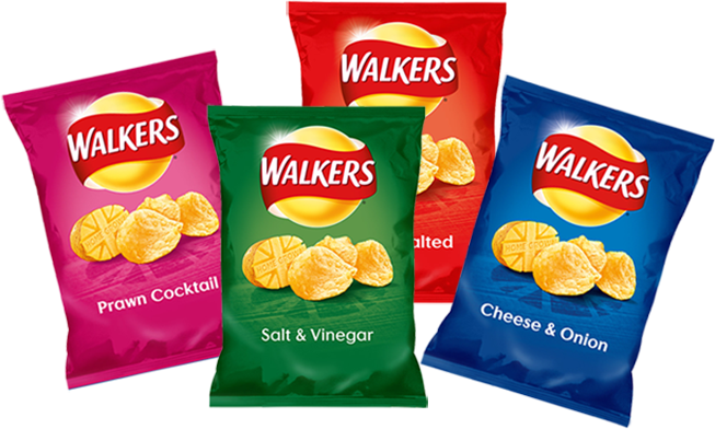 Over 100 packets of free Walkers crisps in this giveaway! freebie win