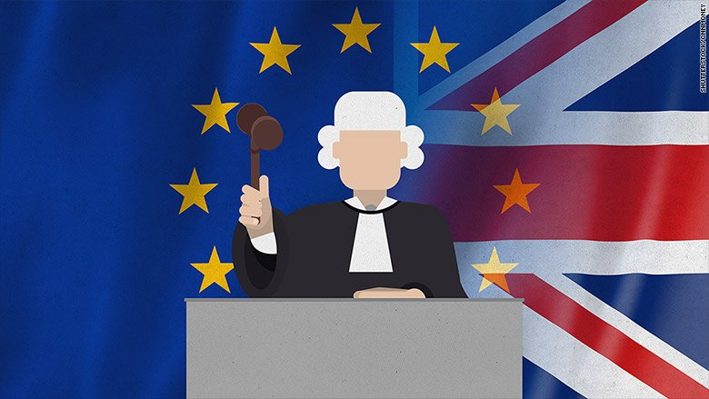 Britain's plans to leave the European Union were just thrown into confusion by a U.K. court