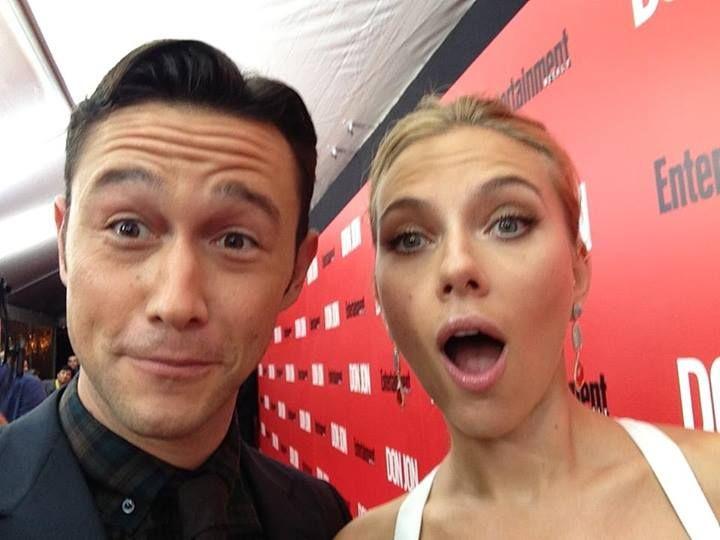 Me and Scarlett. #DonJon premiere! #TBT https://t.co/OTS14jKsrS