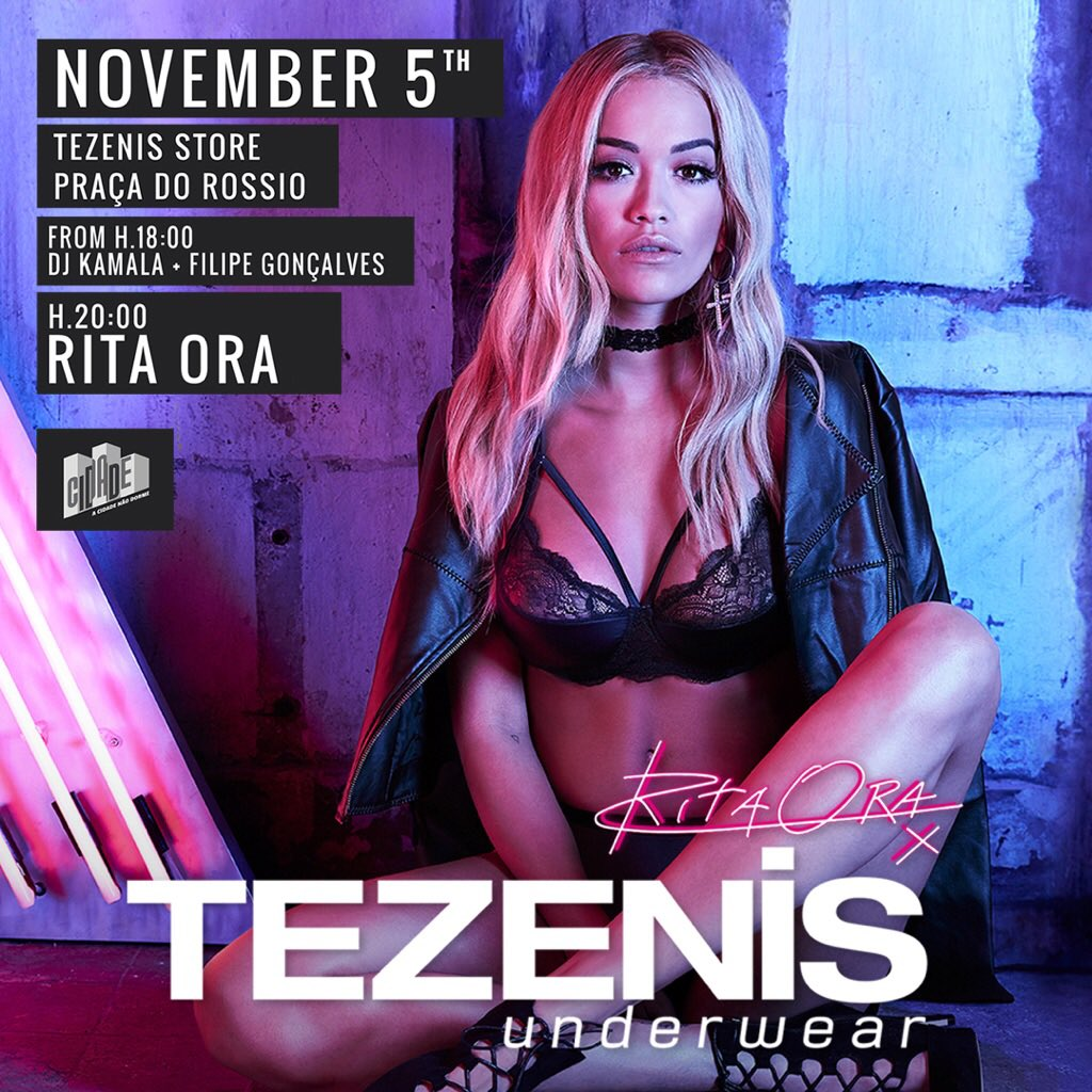 Portugal! Can't wait to see you on the 5th of November for our @tezenis event ❤️ https://t.co/FNyk88VJrH