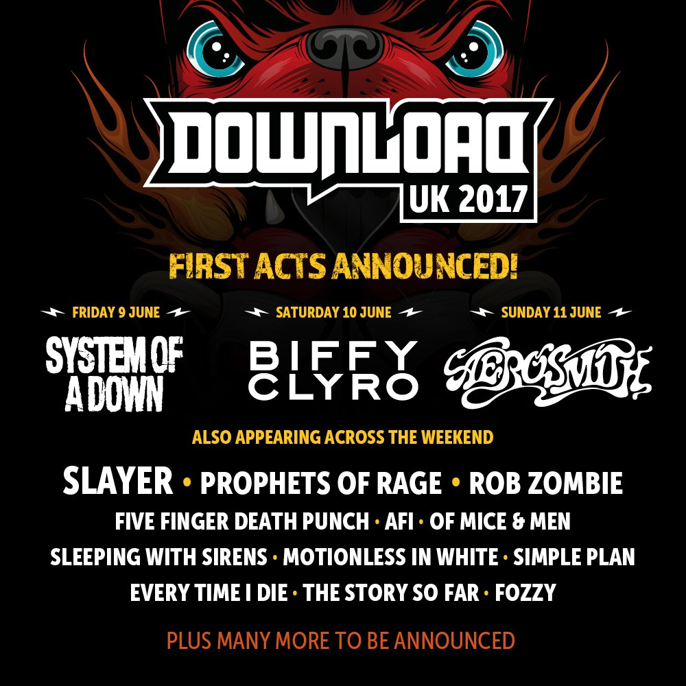 YOUR FIRST #DL2017 ANNOUNCEMENT IS HERE \m/ Tickets go on sale from 10am tomorrow! https://t.co/ZHipFap6KO