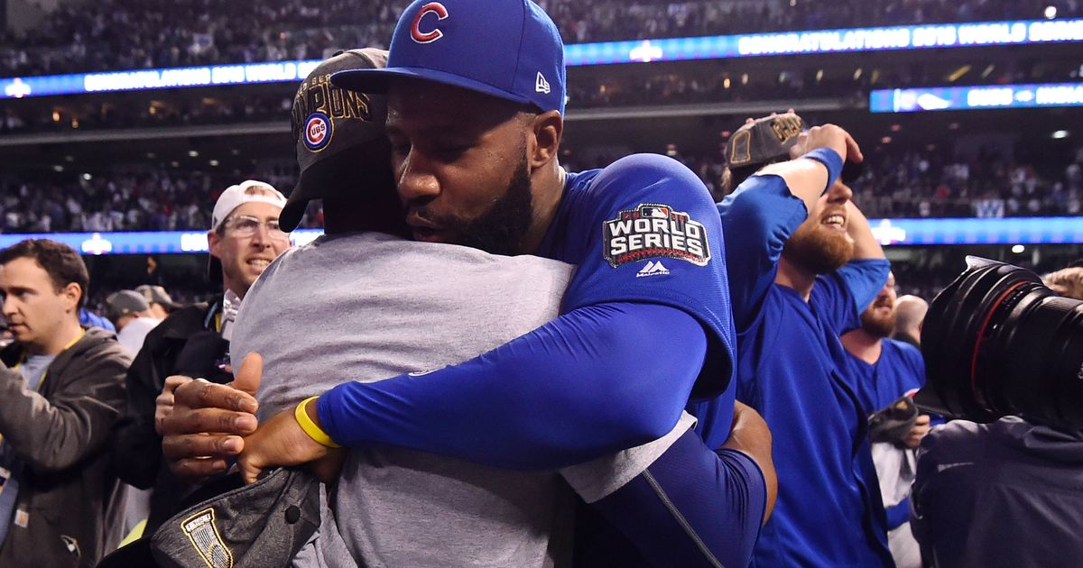 Jason Heyward's speech spurs Cubs during World Series Game 7 rain delay