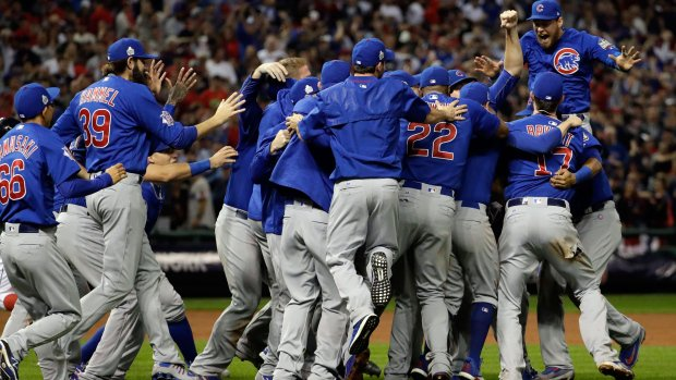 The most epic Chicago Cubs World Series win reactions